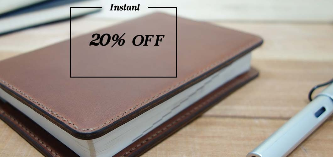 Instant Discount of 20% off
