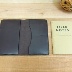 Leather Field Notes Cover, Dark Brown