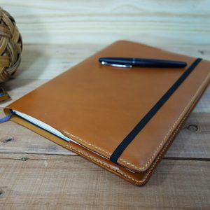 XL Moleskine Notebook Cover, Tan