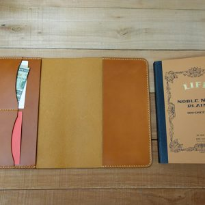 Life Noble Notebook Cover - tan