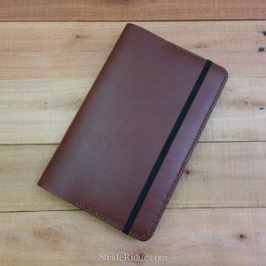 Large Moleskine Notebook Cover, Medium Brown