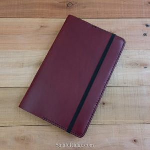 Large Moleskine Notebook Cover, Burgundy