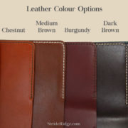 StrideRidge Leather Colours (Vegtan)