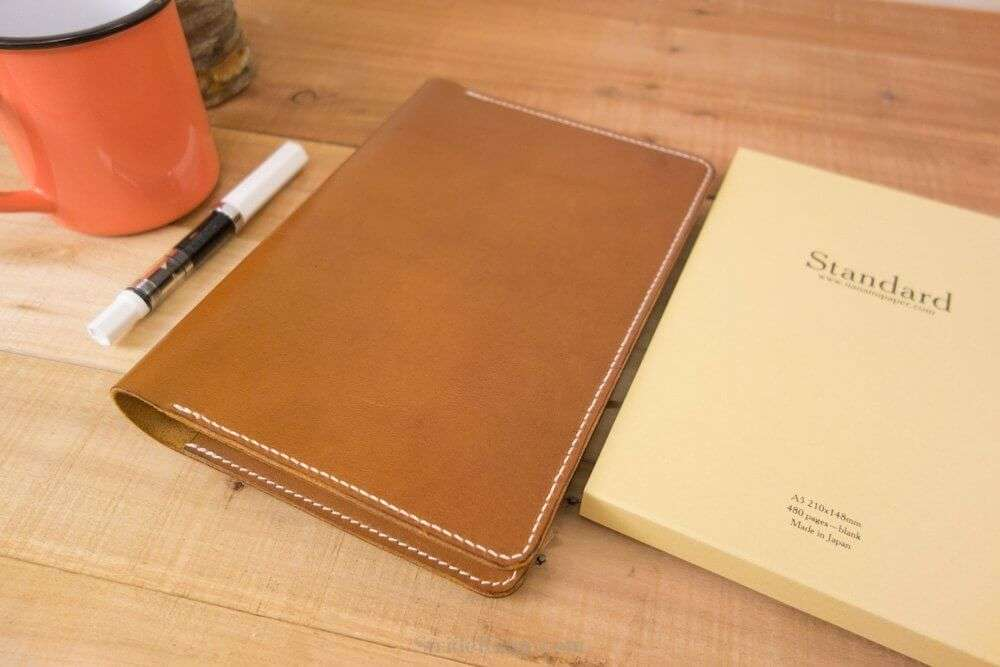 Notebook Cover Pictures ~ Seven seas standard tomoe river journal leather cover